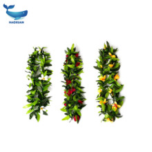 2019 wholesale Tropical Hawaiian Luau Lei Assorted Color Leaf Party Favors Hawaii Flowers Leis for party