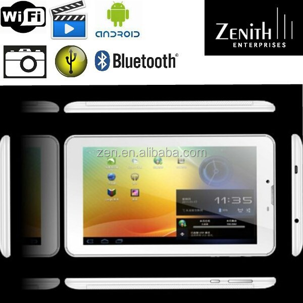 2014 hot item 7 inch 3G Dual core MTK8312 Plastic Panel Tablet PC
