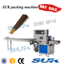 Hot sale agarbatti/incense sticks flow packing machine in india