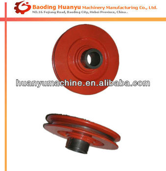 OEM GG20/GG25 Sand Casting V Fixed Pulley Idler Pulley