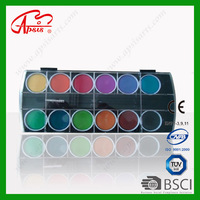 12colors water colour tablets water paint