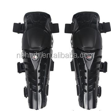 Adults Fashion Knee Shin Armor Protect Guard Pads Accessories with Plastic Cement Hook for Motorcycle Motocross Racing