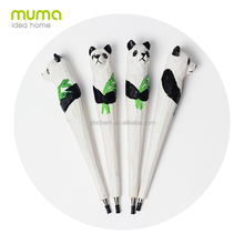 Hot sell wooden animals neutral pen/cute cartoon pen