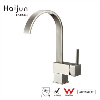 Haijun New Design Contemporary Brass Single Hole CUpc Kitchen Faucet