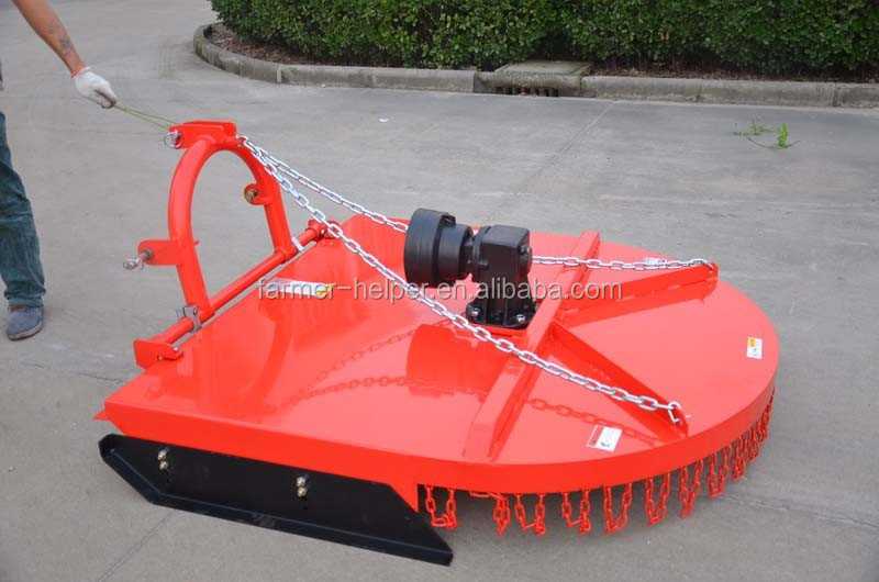 Tractor grass lawn mower