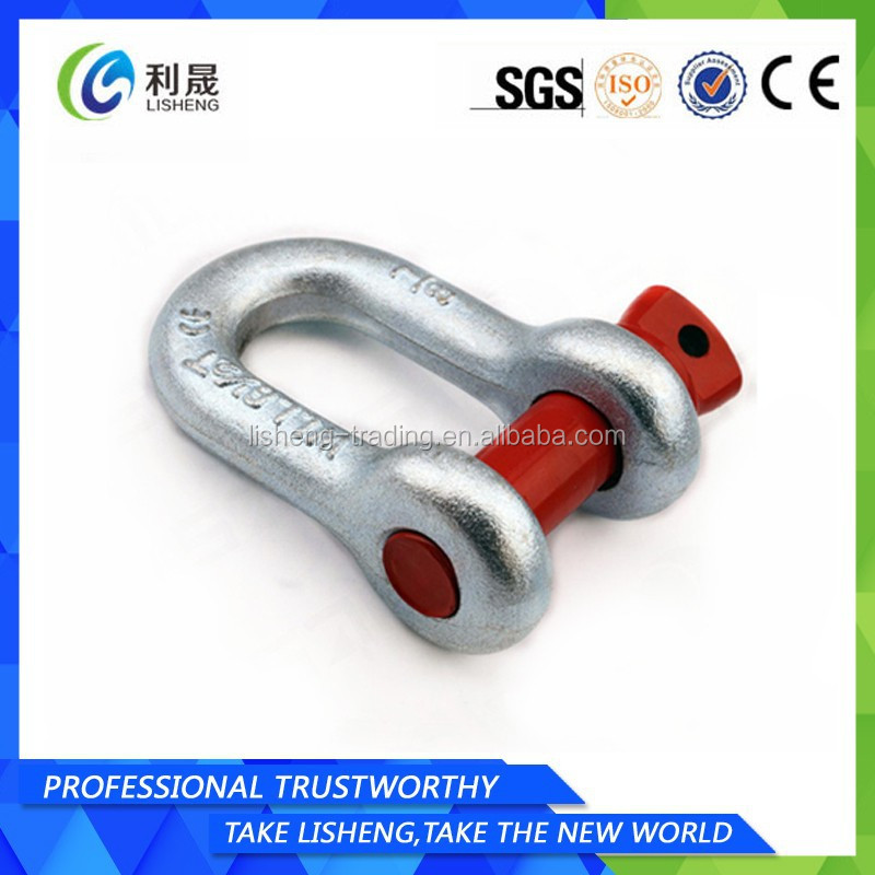 OEM Or ODM Stainless Steel D Shackle
