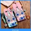 3D Cartoon Rabbit Judy Silicone Phone Case for iphone 5/5s/6/6 plus