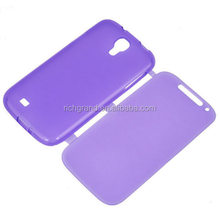 Hot sell Clear Flip TPU Skin Gel Silicone Case Cover For SAMSUNG GALAXY S4
