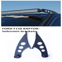 "Pair For d F150 SVT Raptor 10-14 Roof Rack Mount Bracket For 50"" Led Light Bar"