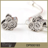 factory direct sale alloy cute rabbit bead accessories bracelets