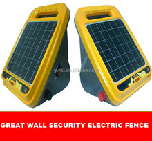 Livestock control solar powered farm electric fence energizer 0.5 joule
