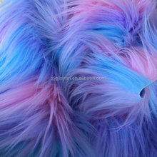 60 inch long hair fur fabric extensions for goat