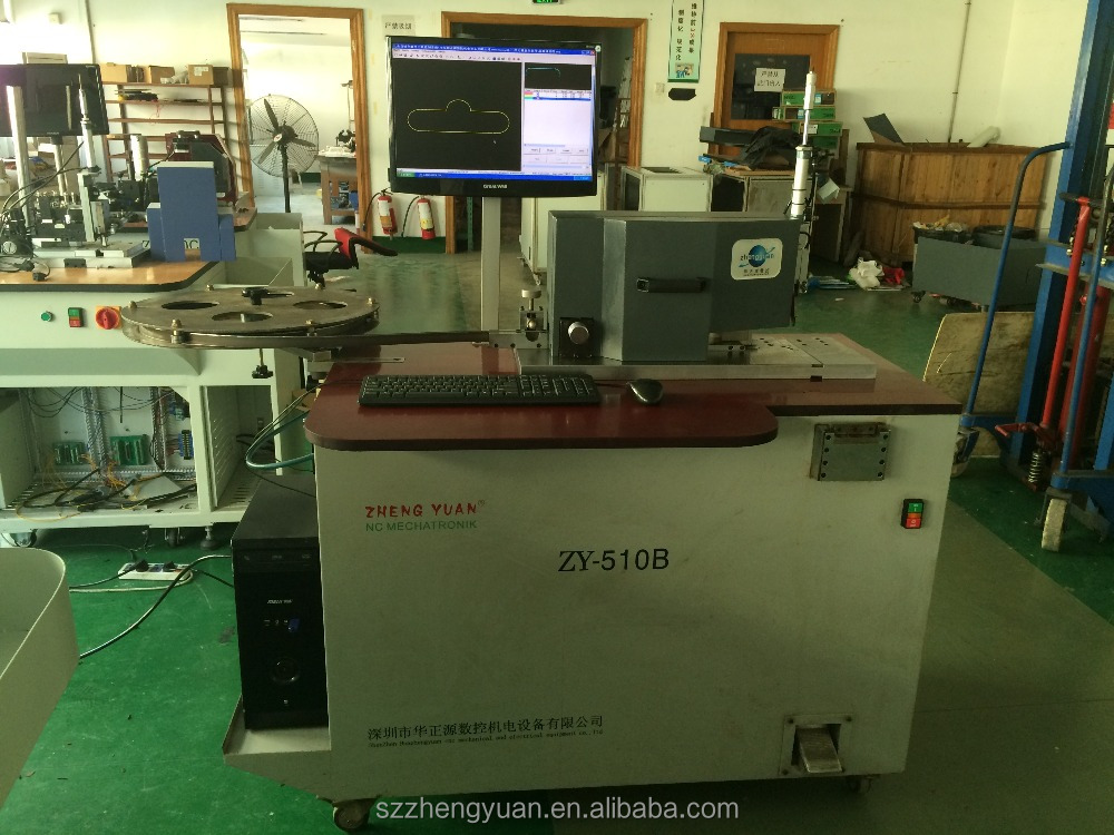 reinstall the used machine ZY-510B cutter and bender used machine
