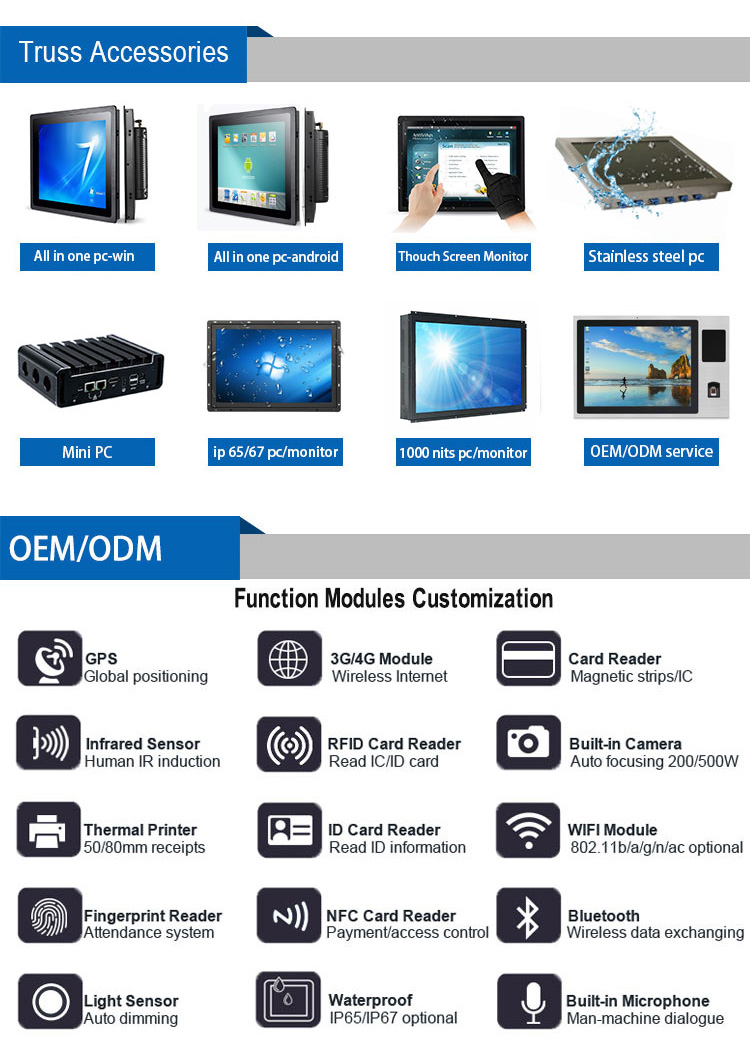 intel celeron j1900 Industrial embedded pc 12v desktop mini pc with pci express slot