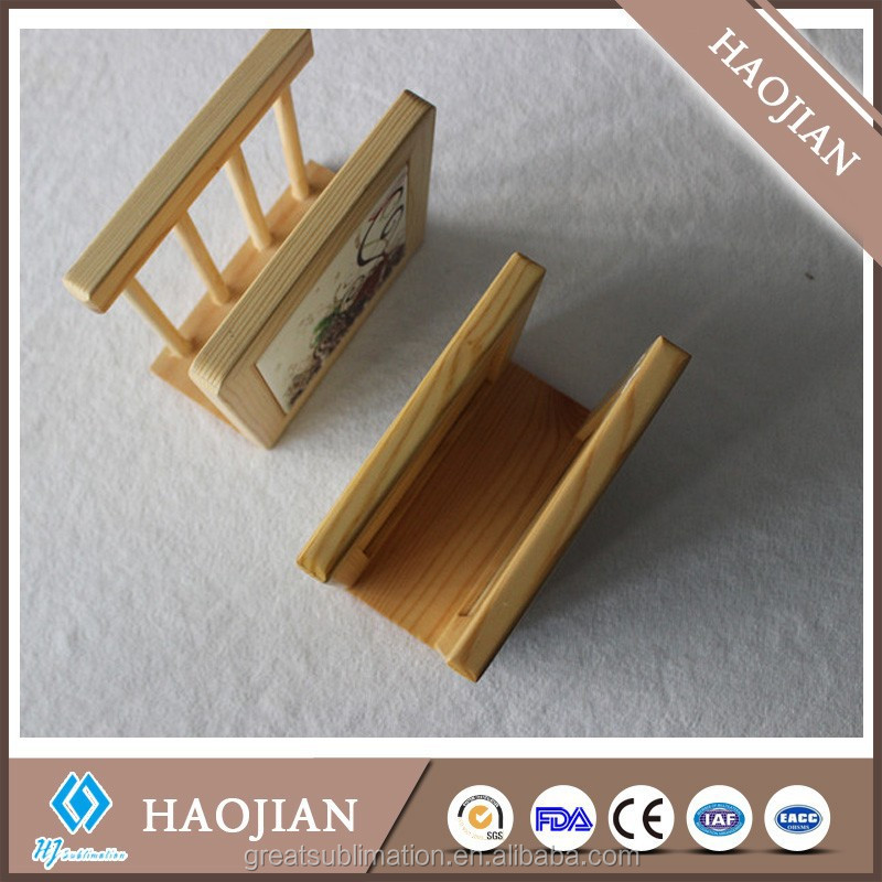 wood holds with sublimation tile