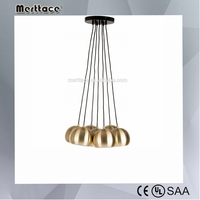 modern copper hanging lamp chandelier