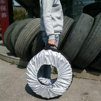 Multifunctional custom spare tire bag/customized plastic spare tire covers designs for wholesaleswith free samples