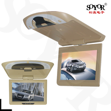 10 Inch Car Roof Mounted Monitor Overhead Flip Down MP3 MP4 MP5 Video