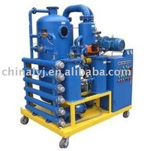High vacuum type transformer oil dehydration plant