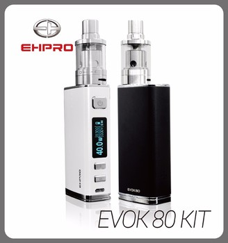 Ehpro Evok 80w start kit with Ceramic Coil topfill min Evok tank