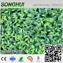 decorative indoor removable plastic fence artificial boxwood hedge