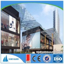 12mm-19mm tempered glass elevator with arch door EN12510-1 certification