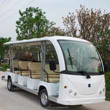 23 passager electric resort car /sightseeing bus/tourist electric car with door used scenic arear