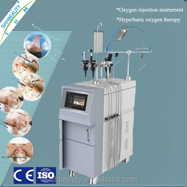 12 in 1 multipolar radio frequency Oxygen injection machine/oxygen spray/oxygen peeling facial machine