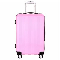 Wholesale Price Travel style luggage bag set PC material suitcase