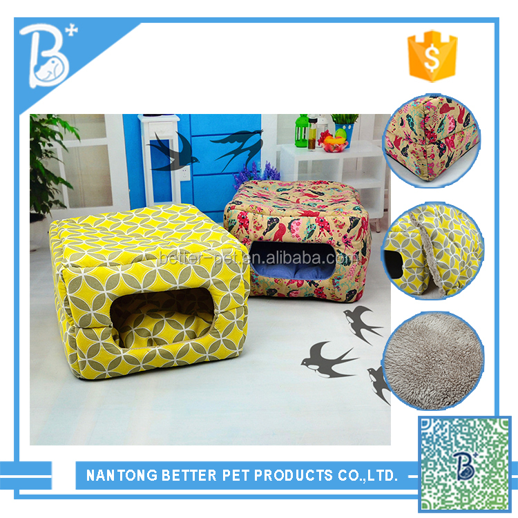 new design products cat stocked pet dog bed with removable