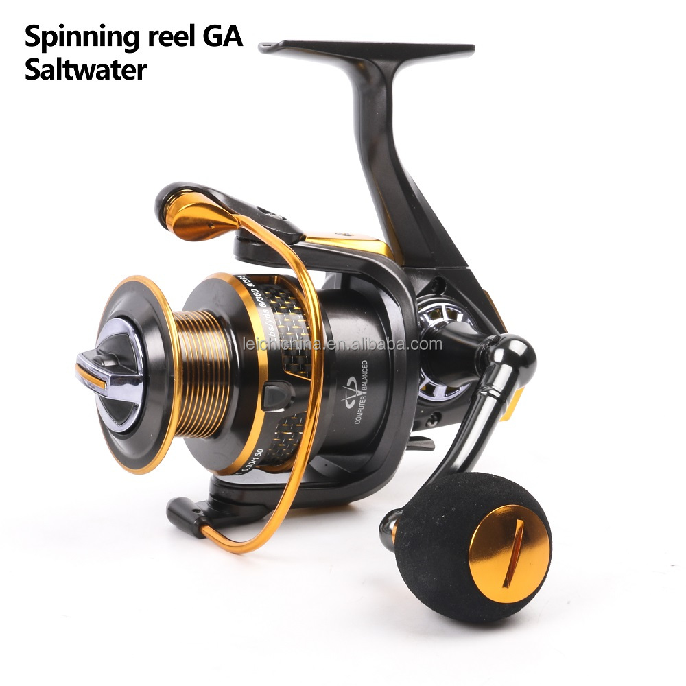 High quality graphite saltwater fishing spinning reel for Saltwater fishing reel