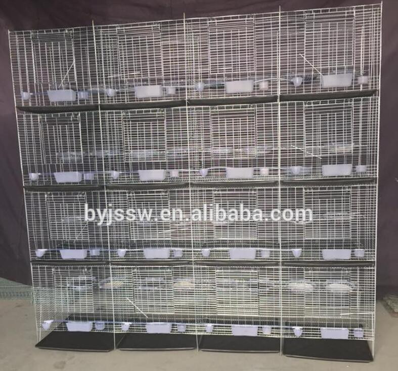 Hot Sale 12 & 16 Pigeon Wire Mesh Cage