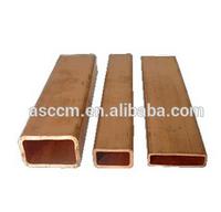China Thin Wall Rectangular Copper Tubing Manufacturer