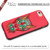 Best selling products 2017 in usa pu leather with embroidery rose flower case pattern for iphone 7