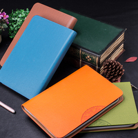 Zipper Lock Ring Binder Custom Printing Business Fancy PU Leather Cover Sublimation Blank Notebook