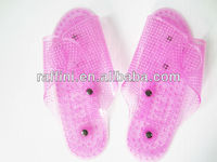 Novel foot massager slipper
