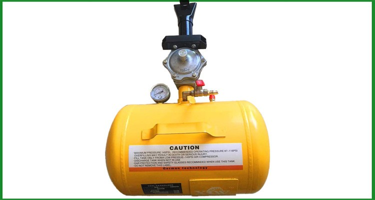 6L gun shape tire fast inflator Tire bead seater with safe valve