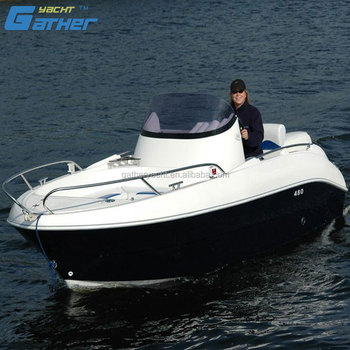 Gather Sport Hot sale 4.8m fiberglass sport boat