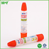 Hot sale Quick Dry school children and office use two mouth caps Liquid type paper glue