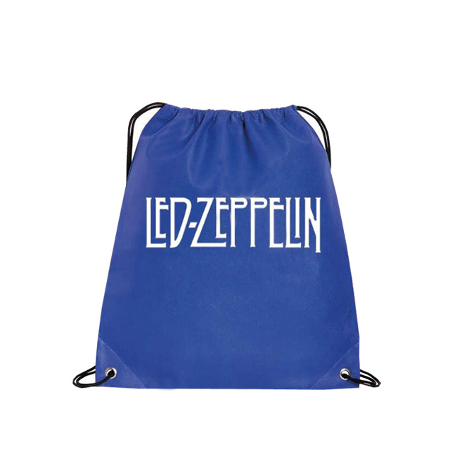 Fashion cheap price christmas drawstring bag promotional