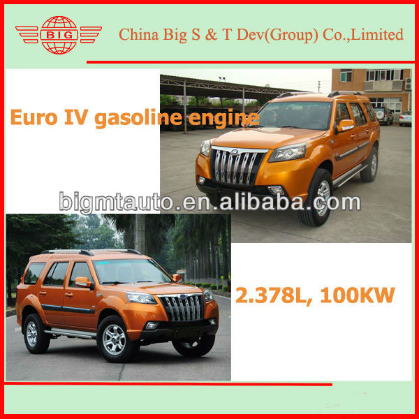 powerful strong new designed gasoline bulletproof cars 4x4 SUV 2013 manual transmission