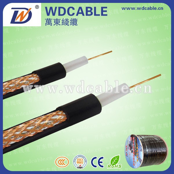 different color 50ohm rg6 cctv cable 75ohm