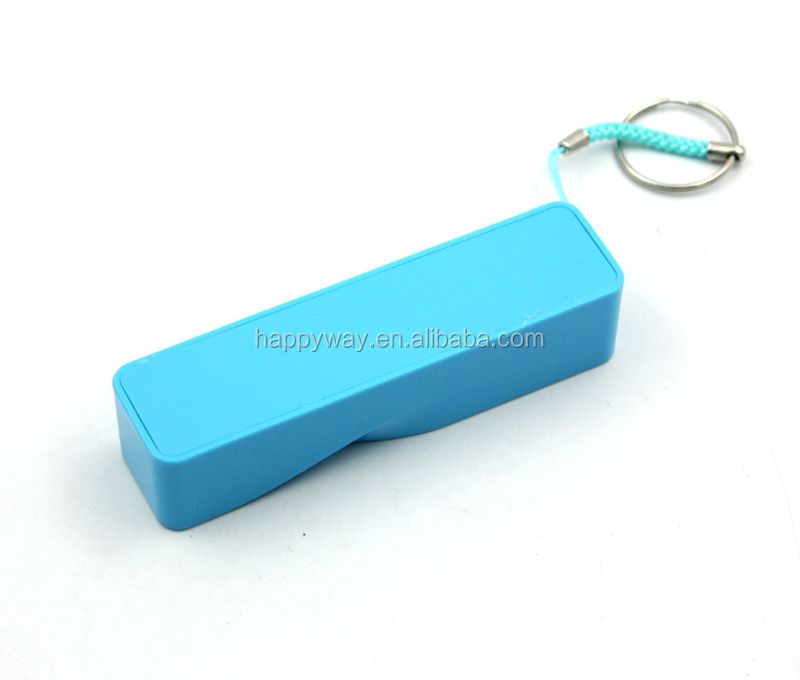 Portable 2600mah Power Bank , MOQ 100 PCS 0801088 One Year Quality Warranty