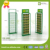 GP Metel paint perforated reticular floor display standee Stainless battery toy stationery rack with hook for supermarket