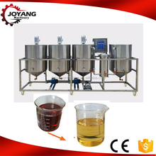 2017 China hot sale stainless steel high quality 10TPD soya bean Oil Refining Machine