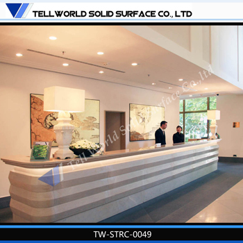 tw hot selling solid surface restaurant furniture fast food shop cashier counter design
