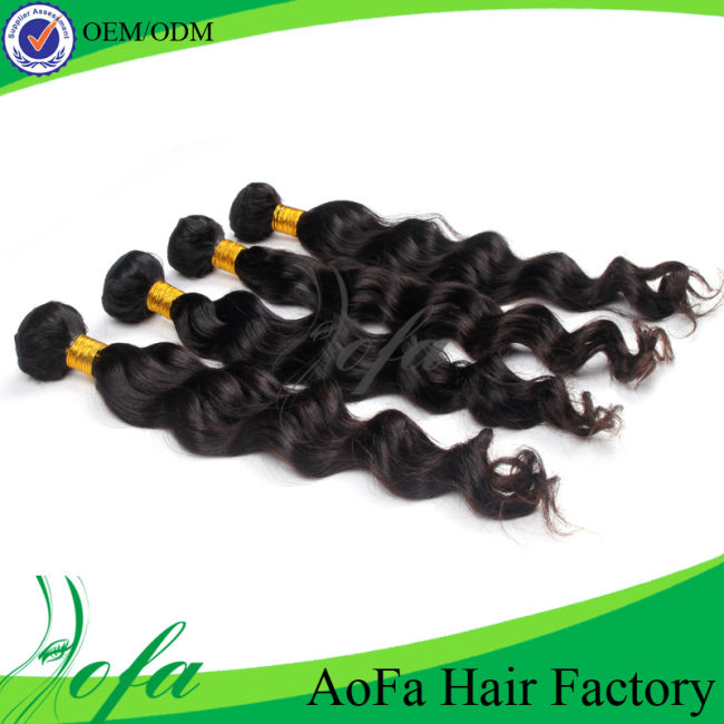 Top quality cheap price virgin unprocessed hair extensions peruvian human nody wave style