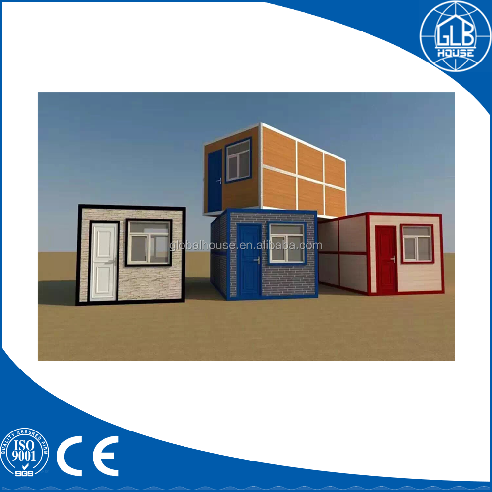 Prefabricated mobile living house folding container for sale