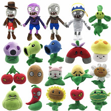 Hot Plush Cartoon Plants Toy Zombies Soft Plush Stuffed Toys For Claw Doll Factory Customized Design