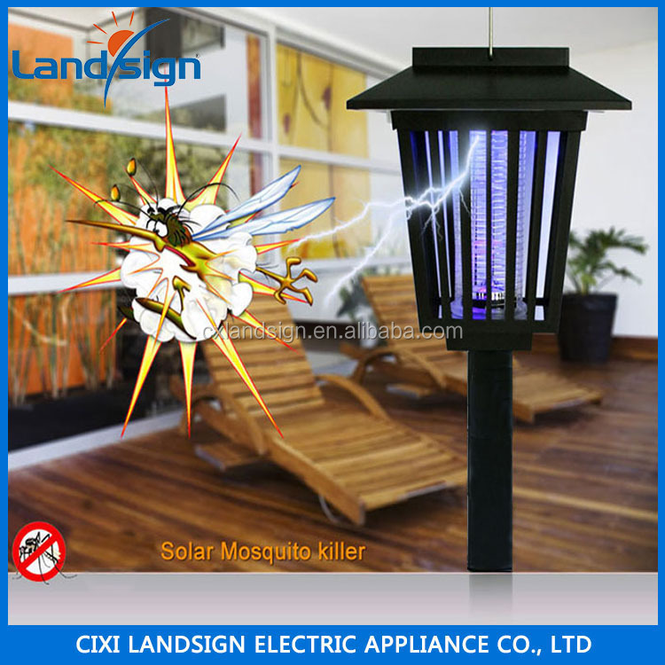2016 alibaba bottom price products solar light Pest Control solar powered rechargeable solar mosquito killer lamp light